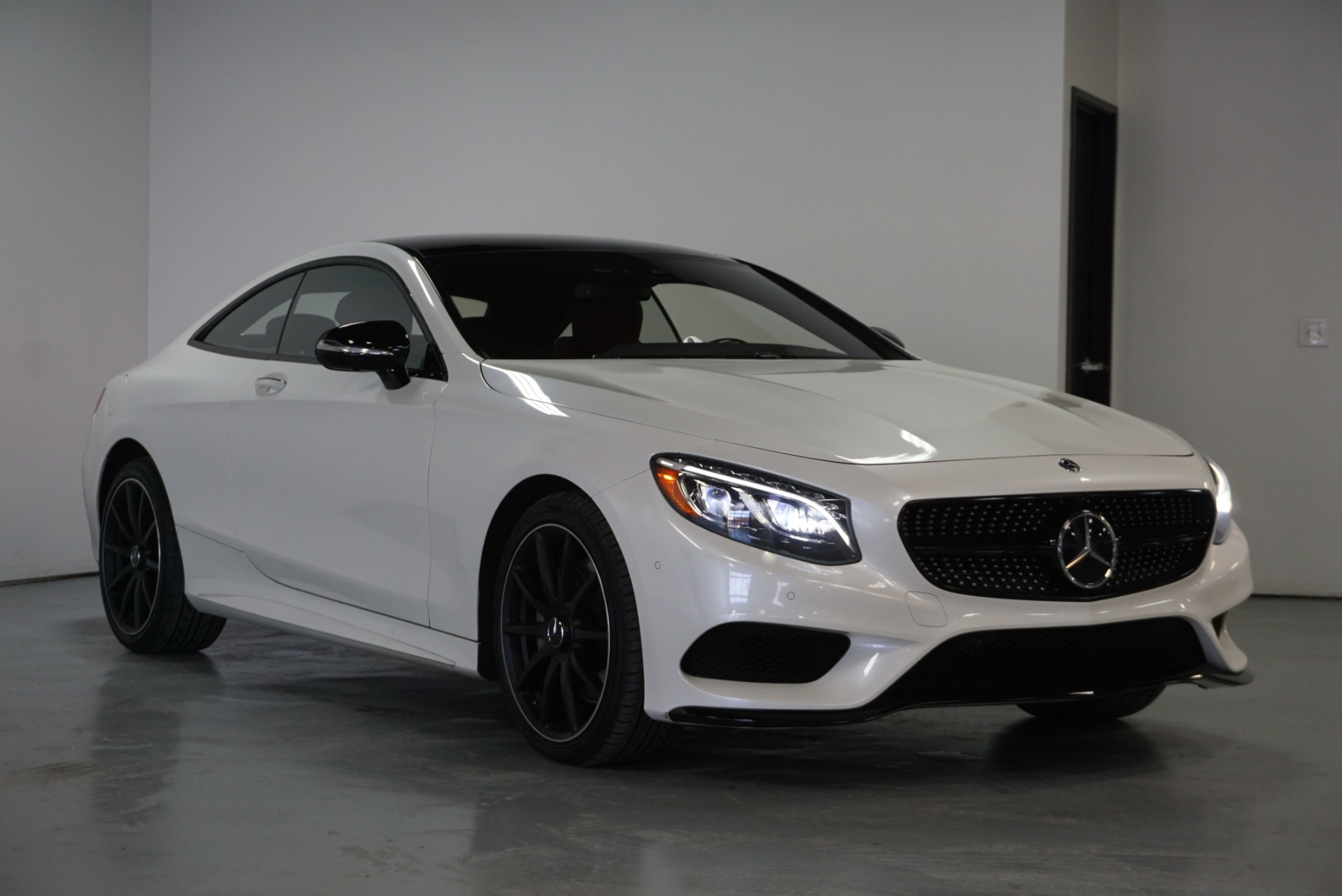 Used 2016 Designo Diamond White Metallic Mercedes Benz S Class Coupe S550 Awd S 550 4matic For Sale Sold Prime Motorz Stock 2623