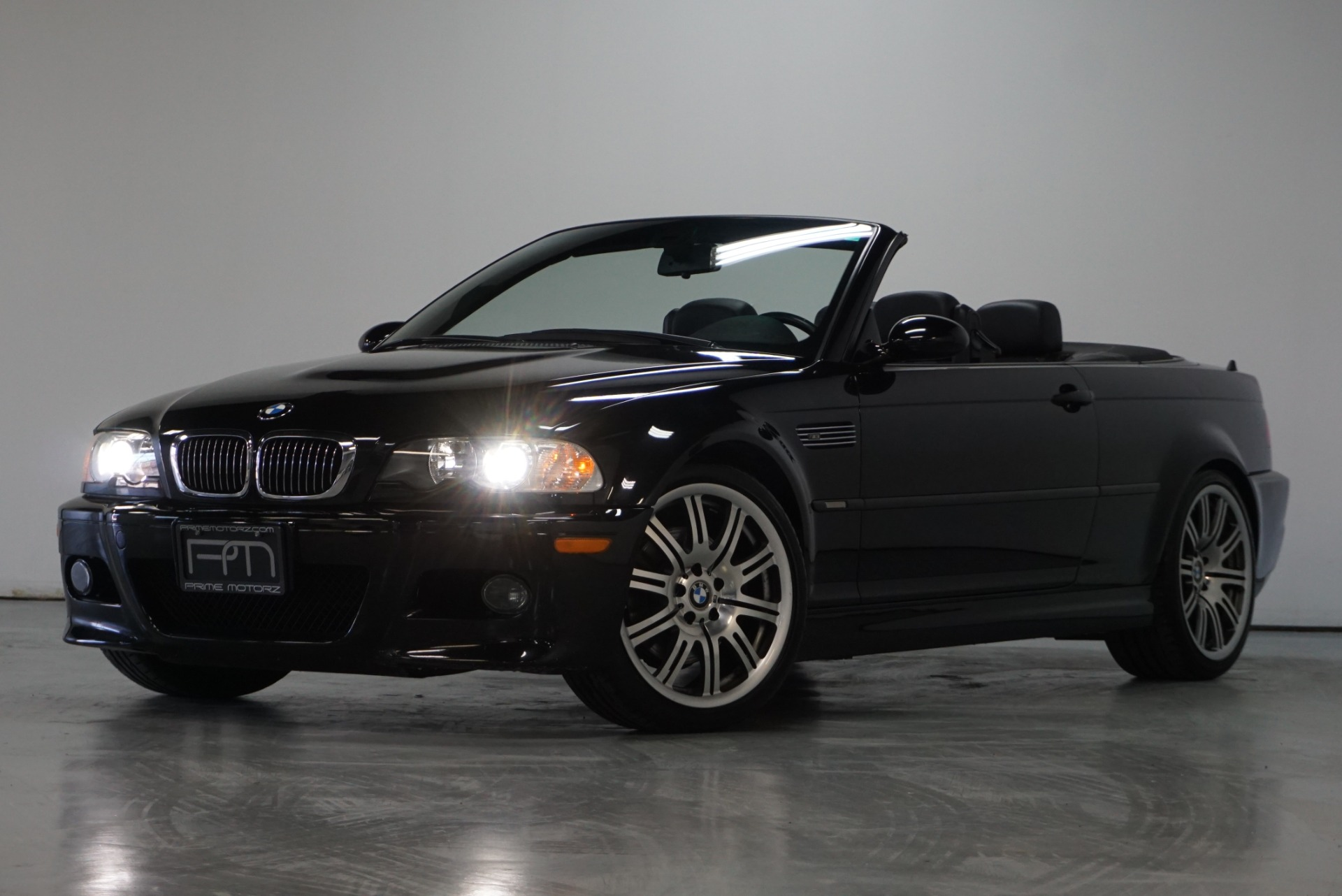 Used 2005 Jet Black Bmw M3 Convertible 3 Series For Sale Sold Prime Motorz Stock 2713