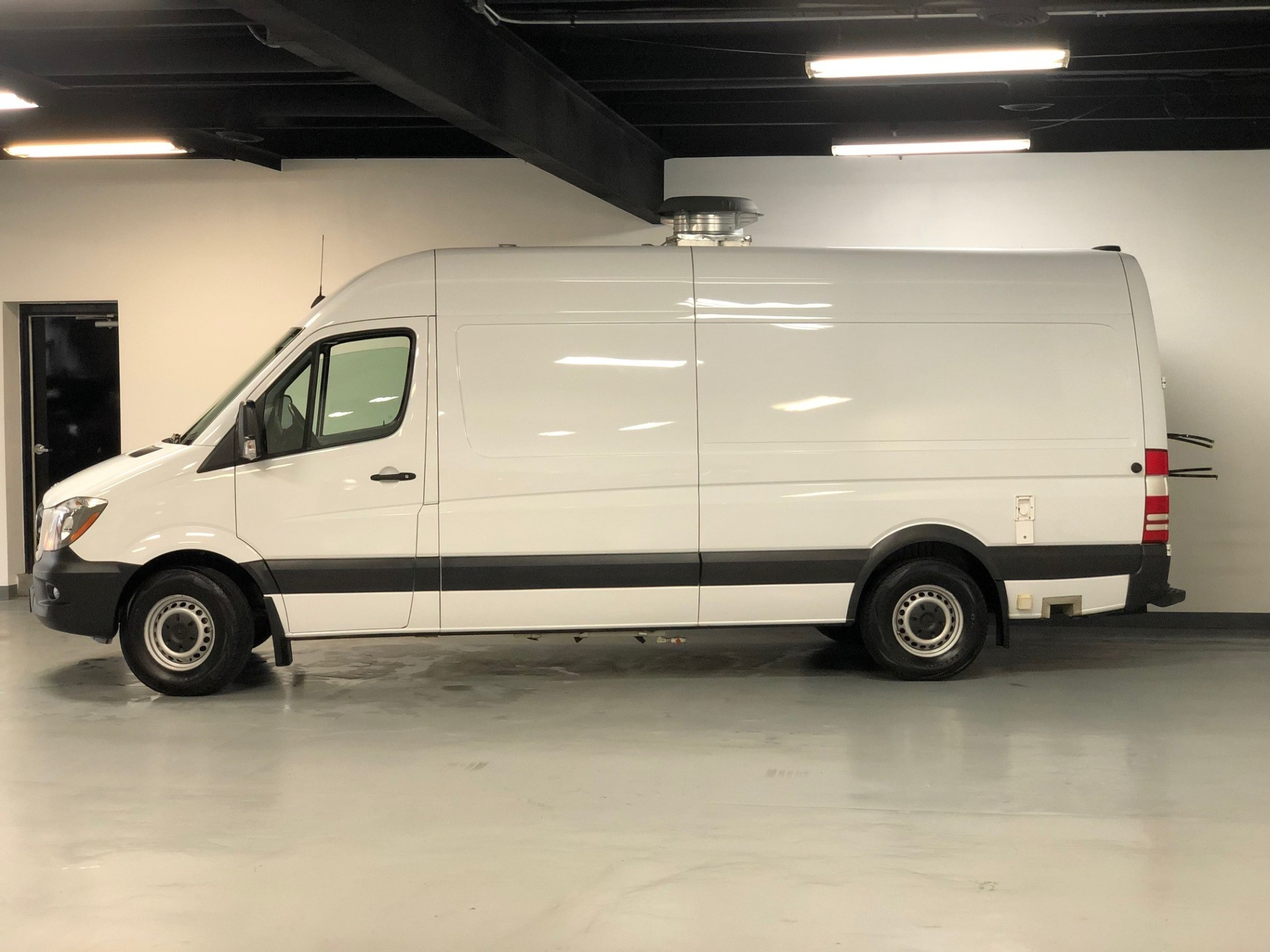 Used 2014 Arctic White Mercedes Benz Sprinter Food Truck Mobile Kitchen 2500 Extended Raised Roof For Sale Sold Prime Motorz Stock 2742