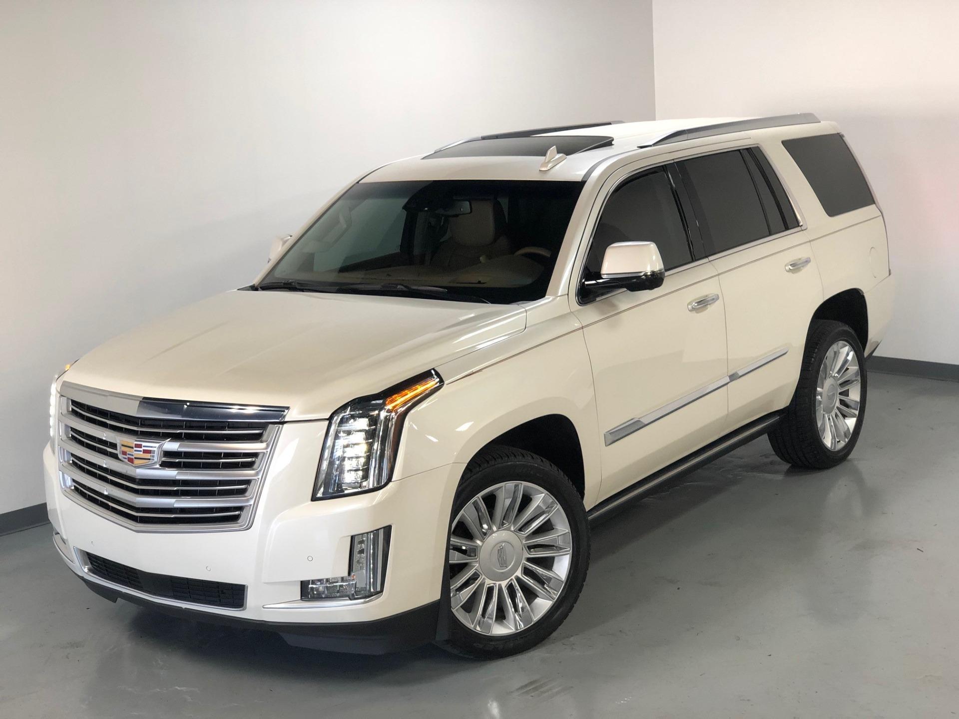 Used 2015 White Diamond Tricoat Cadillac Escalade Platinum Awd Platinum For Sale Sold Prime Motorz Stock 2761