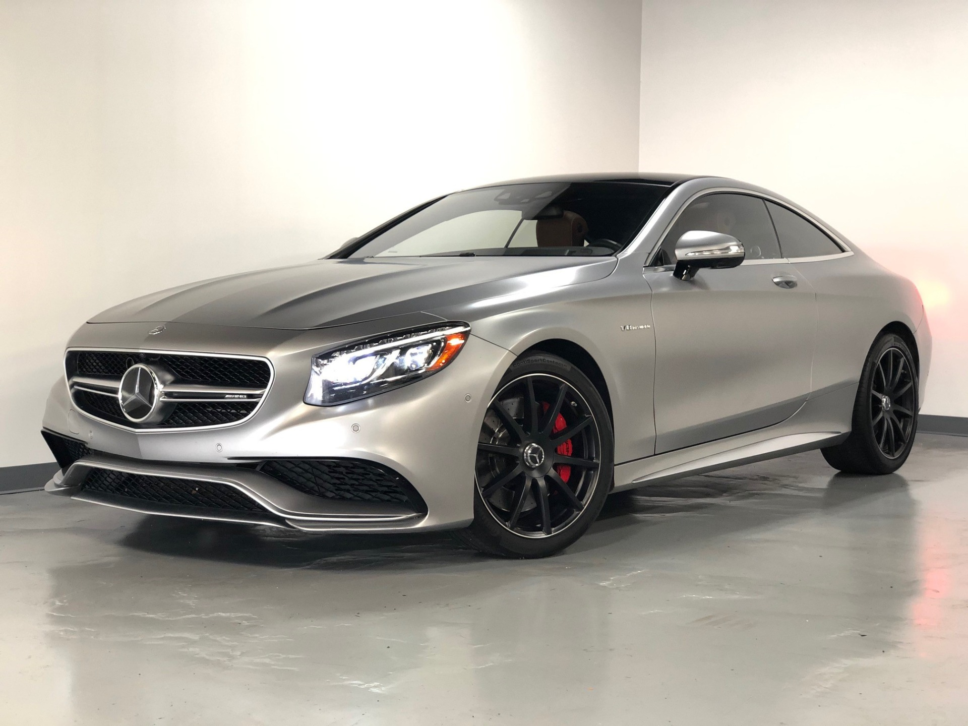 Used 2015 Designo Magno Alanite Grey Mercedes Benz S Class S63 Amg Coupe Awd S 63 Amg For Sale Sold Prime Motorz Stock 2851